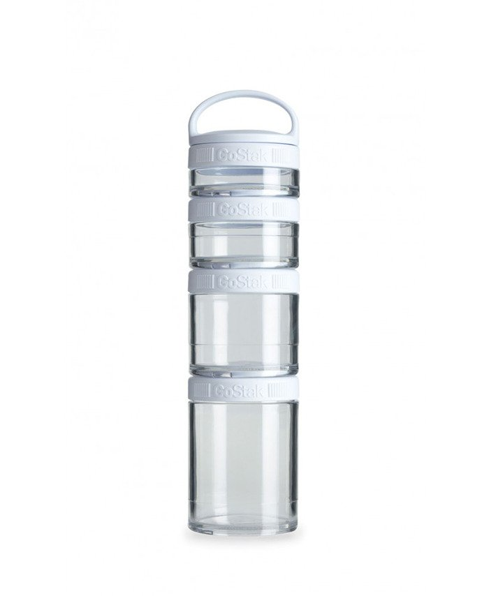 Blender Bottle GoStak 350ml biely