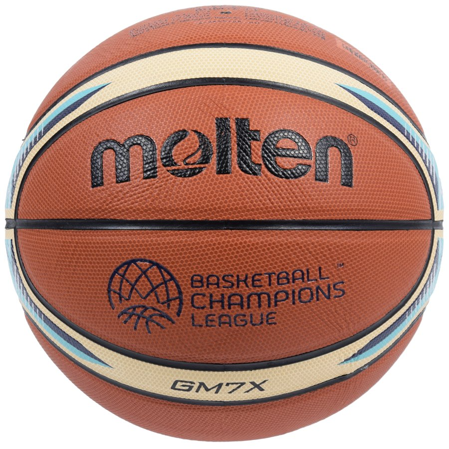Basketbalová lopta Molten BGM7X-CL Champions League replika