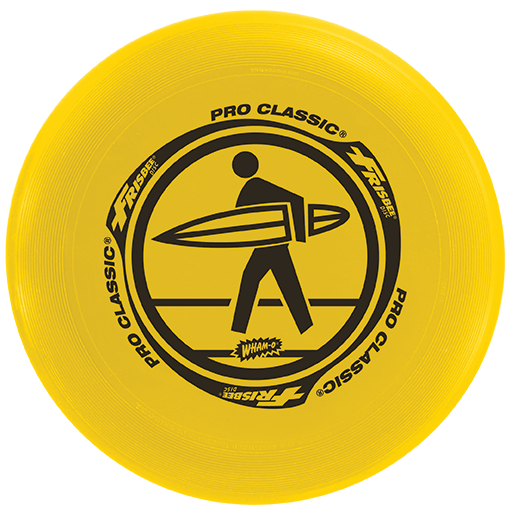 FRISBEE Wham-O PRO CLASSIC 130 g  žltý